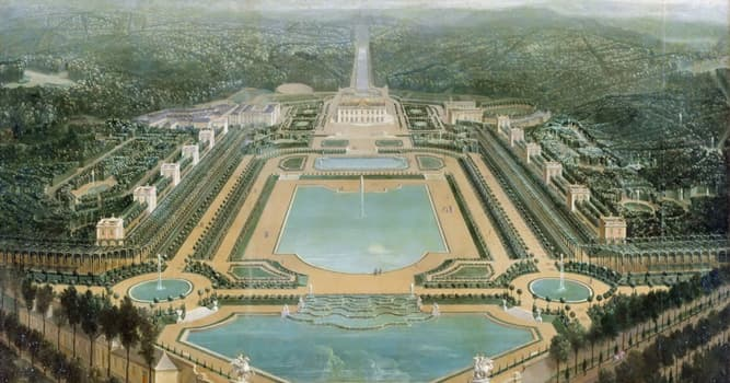 Historia Pregunta Trivia: ¿Qué rey ordenó construir El Palacio de Marly o Castillo de Marly?