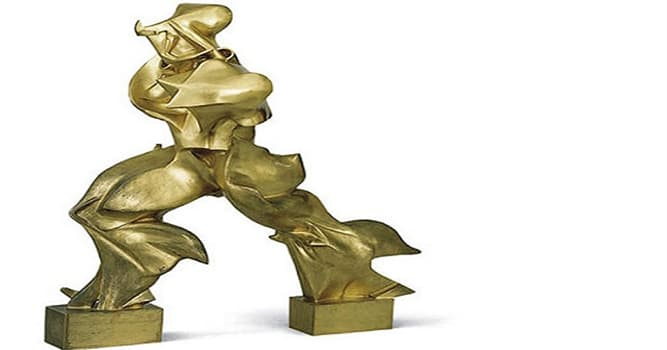 """Cultura Pregunta Trivia: ¿Quién es el autor de la escultura titulada """"Formas únicas de continuidad en el espacio""""?"""