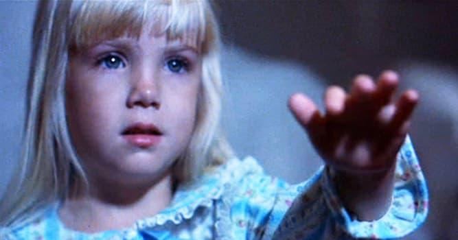 Películas y TV Pregunta Trivia: ¿Quién fue la niña protagonista de la trilogía Poltergeist (Juegos diabólicos)?