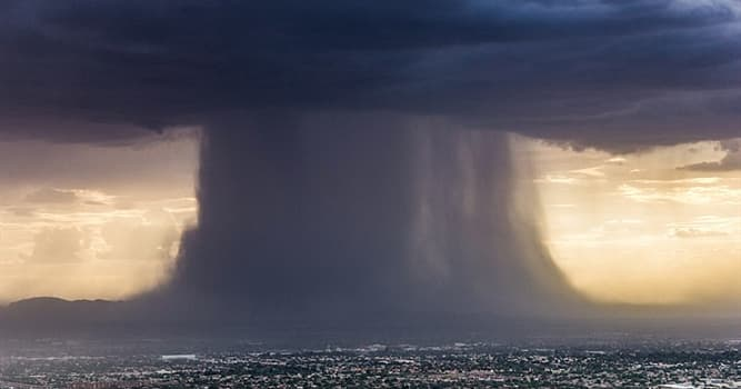 Naturaleza Pregunta Trivia: ¿Con qué nombre se conoce una lluvia repentina de gran intensidad y corta duración?