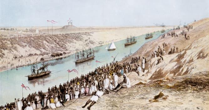 Historia Pregunta Trivia: ¿Cuántas veces se bloqueó el Canal de Suez, desde su inauguración hasta fines de marzo de 2021?