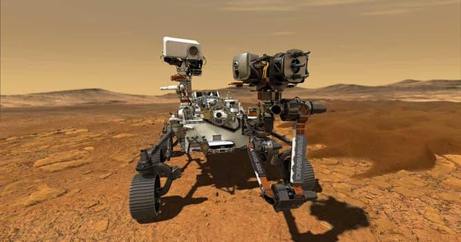 Сiencia Pregunta Trivia: ¿En qué lugar de Marte se posó el rover de investigación de la NASA Perseverance?