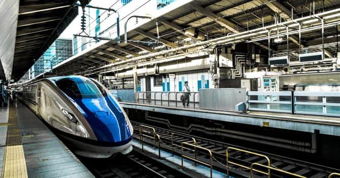 Historia Pregunta Trivia: ¿En qué país circuló el primer tren comercial de alta velocidad en el mundo?