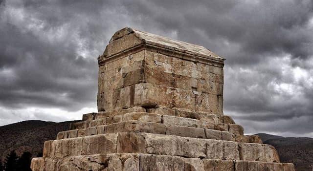Geografía Pregunta Trivia: ¿En qué país se encuentra la tumba de Ciro II el Grande?