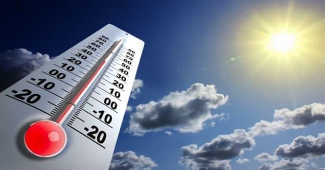 Сiencia Pregunta Trivia: ¿Qué parámetro define la cantidad de calor que tiene un cuerpo o su entorno?