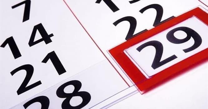 Gesellschaft Wissensfrage: Wie oft gibt es Schaltjahre?