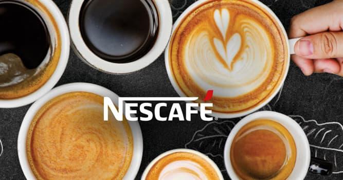 Sociedad Pregunta Trivia: ¿En qué país se elaboró por primera vez el Nescafé?