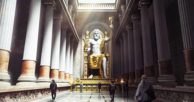 Historia Pregunta Trivia: ¿Quién fue el creador de la estatua de Zeus Olímpico?