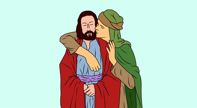 Поцелуй Иуды (в цвете)